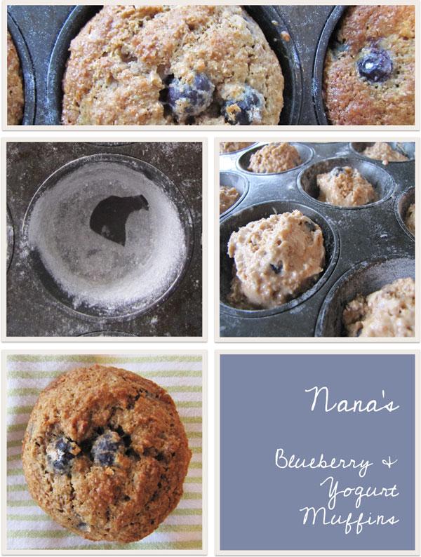 Blueberry and Yogurt Muffin Recipe