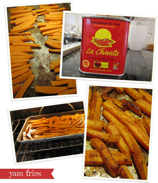 yam fries recipe