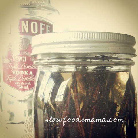 homemade vanilla extract recipe with vodka