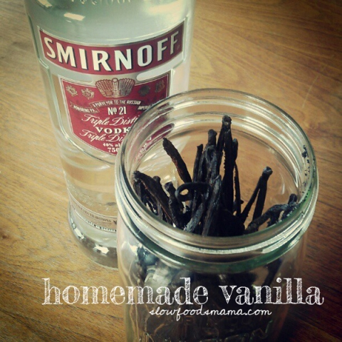 recipe homemade vanilla extract