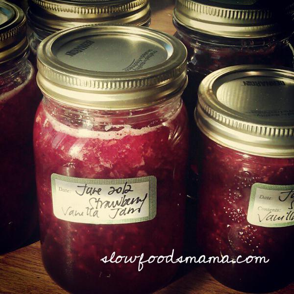 homemade strawberry vanilla jam recipe
