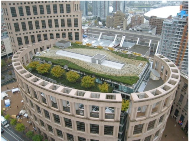 Vancouver Library Green Roof