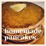 homemade whole wheat pancake recipe