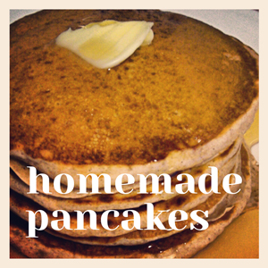 homemade whole wheat pancake recipe