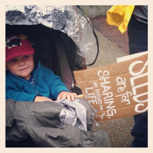 young protestors